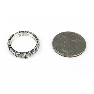 12-PC Finger Rings, Stretchable, Wester Texture - RN-OR0003-AS
