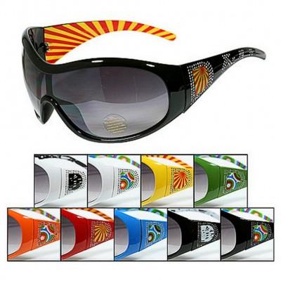 Sunglasses - DR Group - Designer Sunglasses w/ Rhinestone Letters - GL-IN2055R