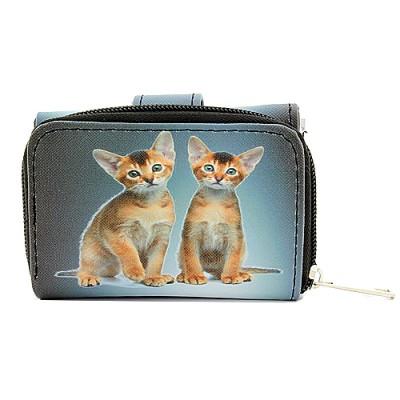 Tri-Fold Wallet - Kitty Print - WL-197CAT1-2