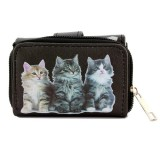 Tri-Fold Wallet - Kitty Print - WL-197CAT1-3