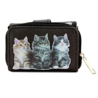 Tri-Fold Wallet - Kitty Print - WL-197CAT1-3