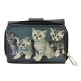 Tri-Fold Wallet - Kitty Print - WL-197CAT2-6