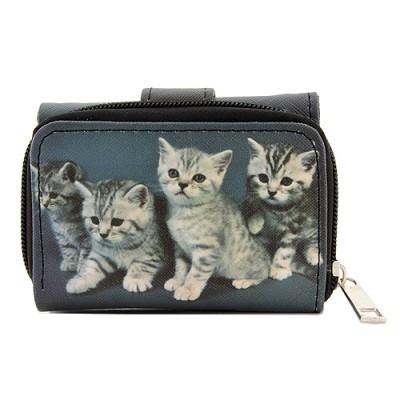 Tri-Fold Wallet - Kitty Print - WL-197CAT2-6