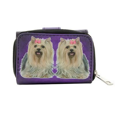 Tri-Fold Wallet - Dog Prin - WL-197DOG1-3