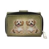 Tri-Fold Wallet - Dog Print - WL-197DOG2-3