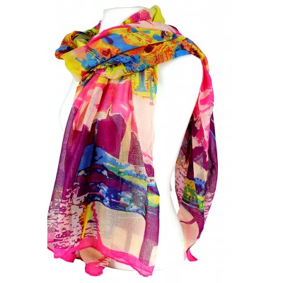 Scarf - Art Print - SF-FS1214FS-MT