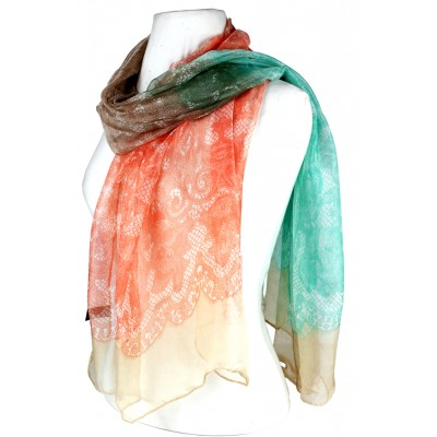 Scarf - Lace Print - SF-FS1224BE