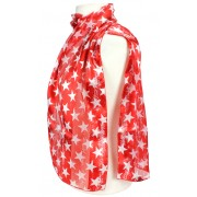 Scarf - Vintage Star Prints - SF-ON2031RD