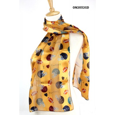 Scarf - Football & Helmets Prints - SF-ON2032GD