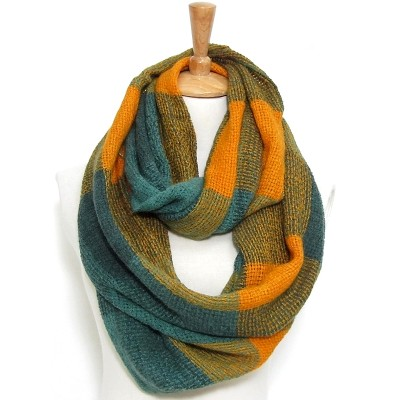 Infinity Scarf - Weaved Blocks - SF-CG226