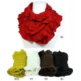 Scarf - Infinity - Crochet Ruffle - SF-S1328J
