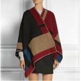 Shawl /Wrap - Multi Color Blocks Prints - SF-RUM05