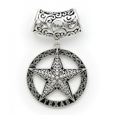 Scarf Ring - Casting Star Charm - SR-HP1006AS