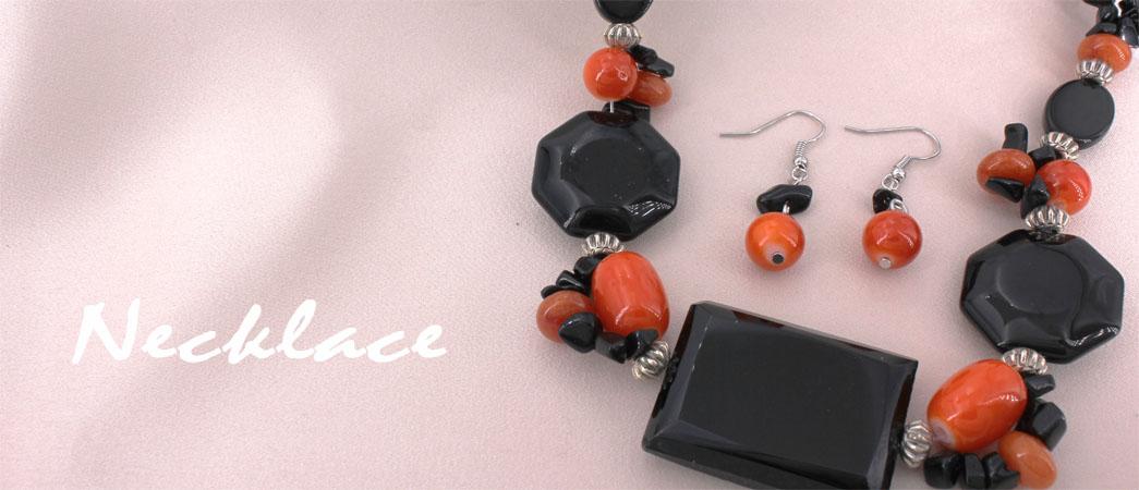 Semi Precious Necklaces @FashionWholesaler.com
